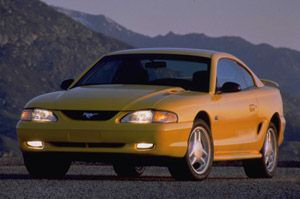 Used Vehicle Review: Ford Mustang, 1994 1998  ford