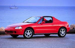 Used Vehicle Review: Honda Civic del Sol, 1993 1997  used car reviews honda