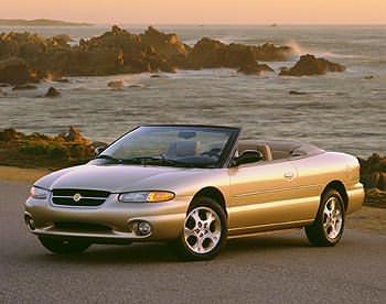 1998 Chrysler Sebring Convertible JX