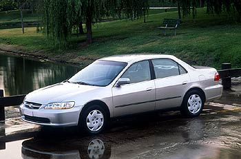 Used Vehicle Review: Honda Accord, 1998 2001 honda