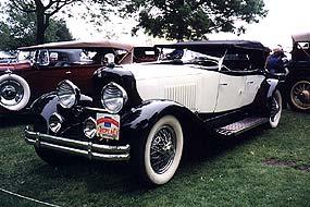 1931 duPont Model K Dual Cowl Phaeton