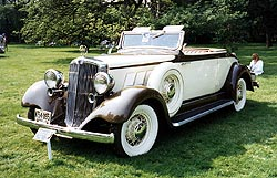 1933 Hupmobile Convertible Coupe