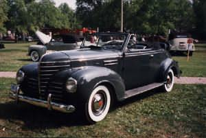 1939 Plymouth Convertible
