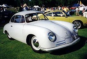 1948 Porsche Gmund coupe