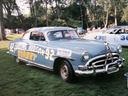 1952 Hudson Hornet Stock Car racer