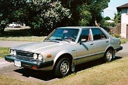 1980 Honda Accord sedan