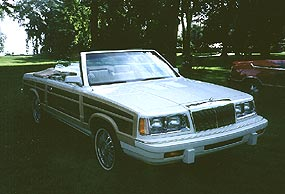 1986 Chrysler Town and Country Convertible