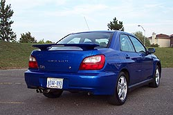 2002 Subaru WRX; photo by Grant Yoxon