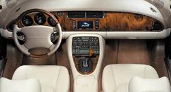 2003 Jaguar XK8 interior