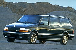 Dodge Caravan, Plymouth Voyager and Chrysler Town ...