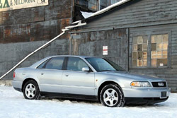 1997 Audi A8; photo by Robert Voytcheff of SplendidAuto.com