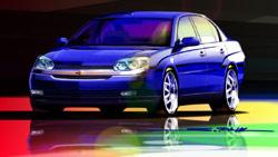 Chevrolet Malibu concept sketch