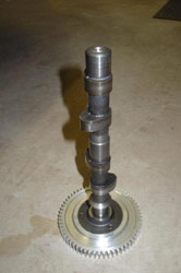 A camshaft found through an Internet search; photo courtesy of TheSamba.com
