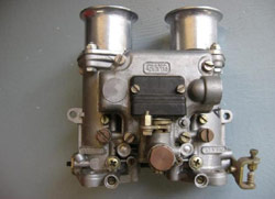 A carburetor found through an Internet search