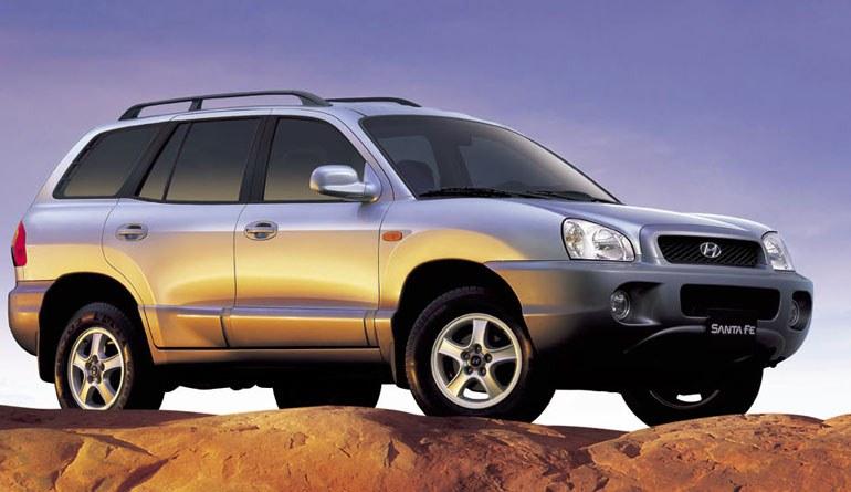 2005 Hyundai Santa Fe. Test Drive: 2001 Hyundai Santa