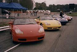 Porsche 2001 model lineup