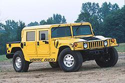 Hummer H1 Vortec 8100