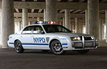 2003 Crown Victoria Interceptor police car