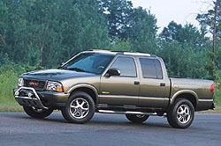 Chevrolet S10 four-door