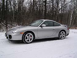 2003 Porsche 911 Carrera 4S Brembo brakes