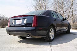 Used Vehicle Review: Cadillac STS, 2005 2011 cadillac