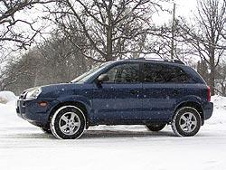 2005 Hyundai Tucson GL 4 cylinder