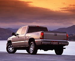 Test Drive: 2002 GMC Sierra Denali Quadrasteer trucks car test drives gmc