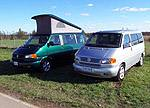 2002 VW Eurovan GLS (right)