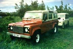 Land Rover One Ten V8 and Series III