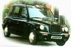 The new TX1 London Taxi (LTI photo)
