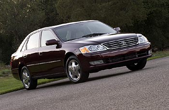 Used Vehicle Review: Toyota Avalon, 2000 2003  toyota