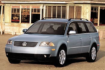 Used Vehicle Review: VW Passat 4Motion, 2000 2003  volkswagen used car reviews