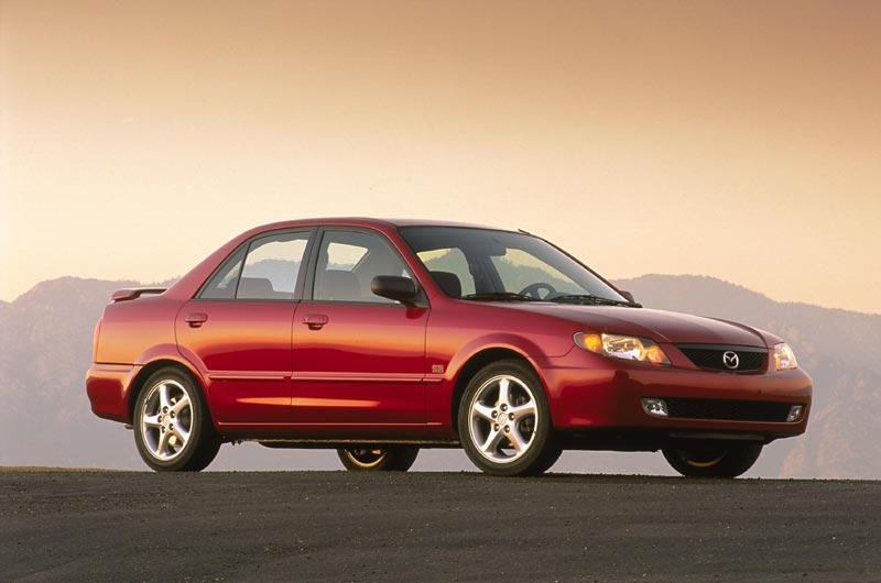 mazda protege. 2002 Mazda Protegé.