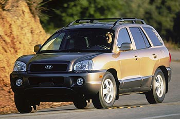 Used Vehicle Review: Hyundai Santa Fe, 2001 2003  used car reviews hyundai