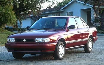 Nissan Sentra, circa 1991
