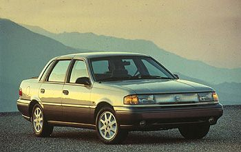 Used Vehicle Review: Mercury Topaz, 1990 1994  mercury
