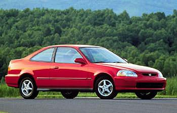 Used Vehicle Review: Honda Civic Coupe, 1996 2000  used car reviews honda