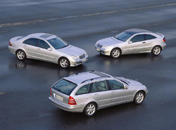 Used Vehicle Review: Mercedes Benz C Class, 2001 2003  mercedes benz