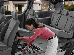 Chrysler's Stow n' Go seats