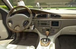 Jaguar S-Type equipped with Visteon Voice Technology(TM)Jaguar S-Type equipped with Visteon Voice Technology(TM)