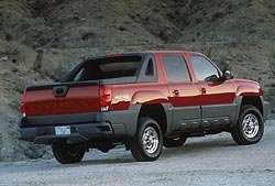 2002 Chevrolet Avalanche 2500 4X4