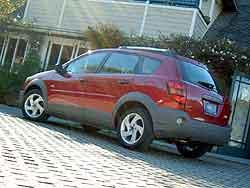 Pontiac Vibe AWD