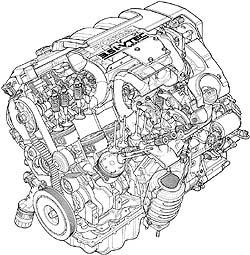 2005 Honda Odyssey 3.5 i-VTEC cutaway