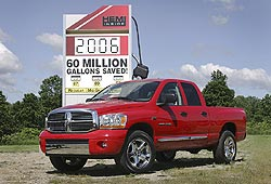 2006 Dodge Ram 1500 with Chrysler Group's Multi-displacement System (MDS)
