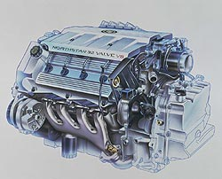 1996 Cadillac Northstar 32-valve dual overhead cam 4.6-liter V8 engine