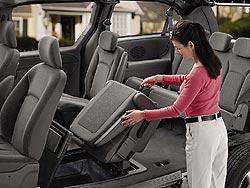 Chrysler Stow 'n Go seating