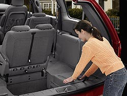 Chrysler Stow 'n Go seating