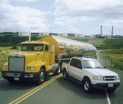 Irving Oil Truck and SportTrac