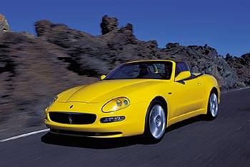 First Drive: 2002 Maserati Spyder first drives