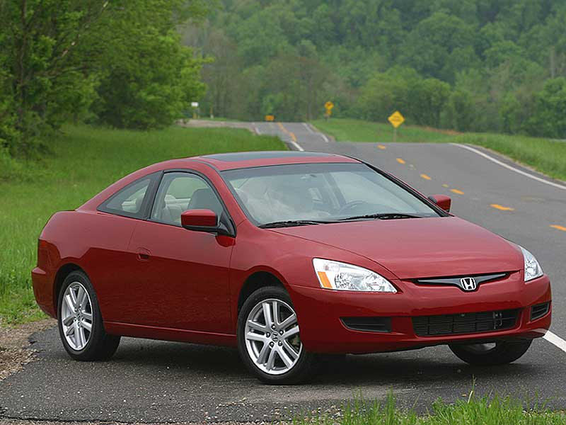honda accord 2003 sedan. The Accord coupe will arrive
